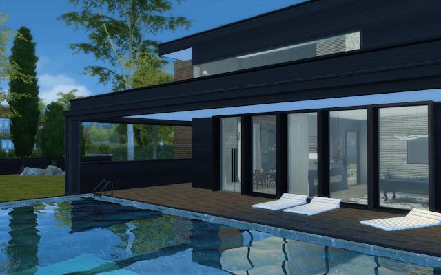 maison design sims 4