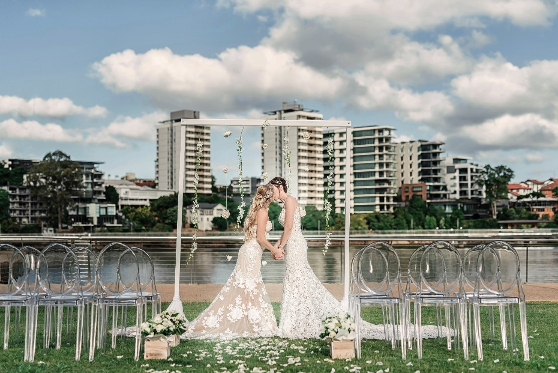 STYLED: BLUSHING BRIDES   RIVERSIDE BRIDAL INSPIRATION BRISBANE QLD