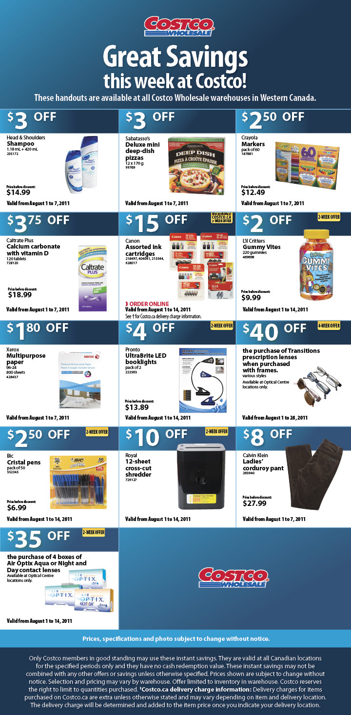 Today's top Costco coupon: 12 Days of Deals + Free Shipping. Get 18 coupons for