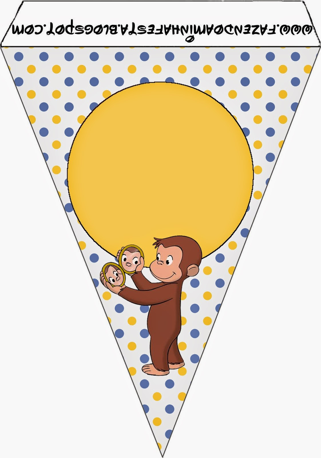 graphic about Curious George Printable identified as Curious George Free of charge Social gathering Printables. - Oh My Fiesta! inside of english