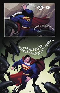Superman y Batman vs. Aliens y Predator # 1-2