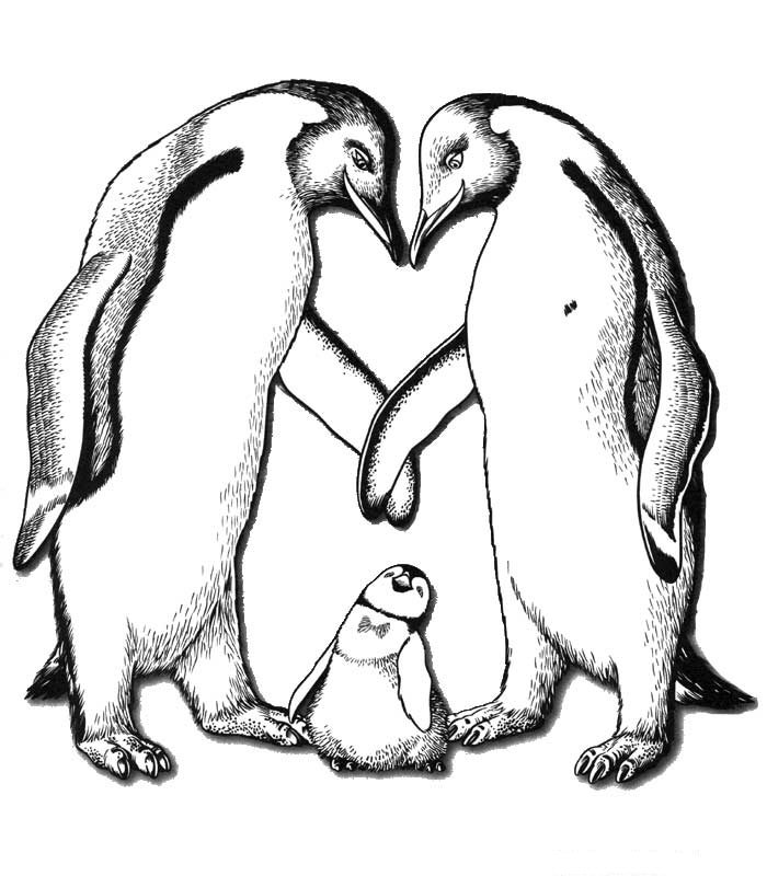 Krafty Kidz Center: Happy Feet II coloring pages