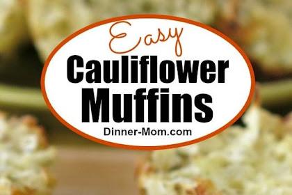 Cauliflower Muffins Recipe – Just 5 Ingredients!