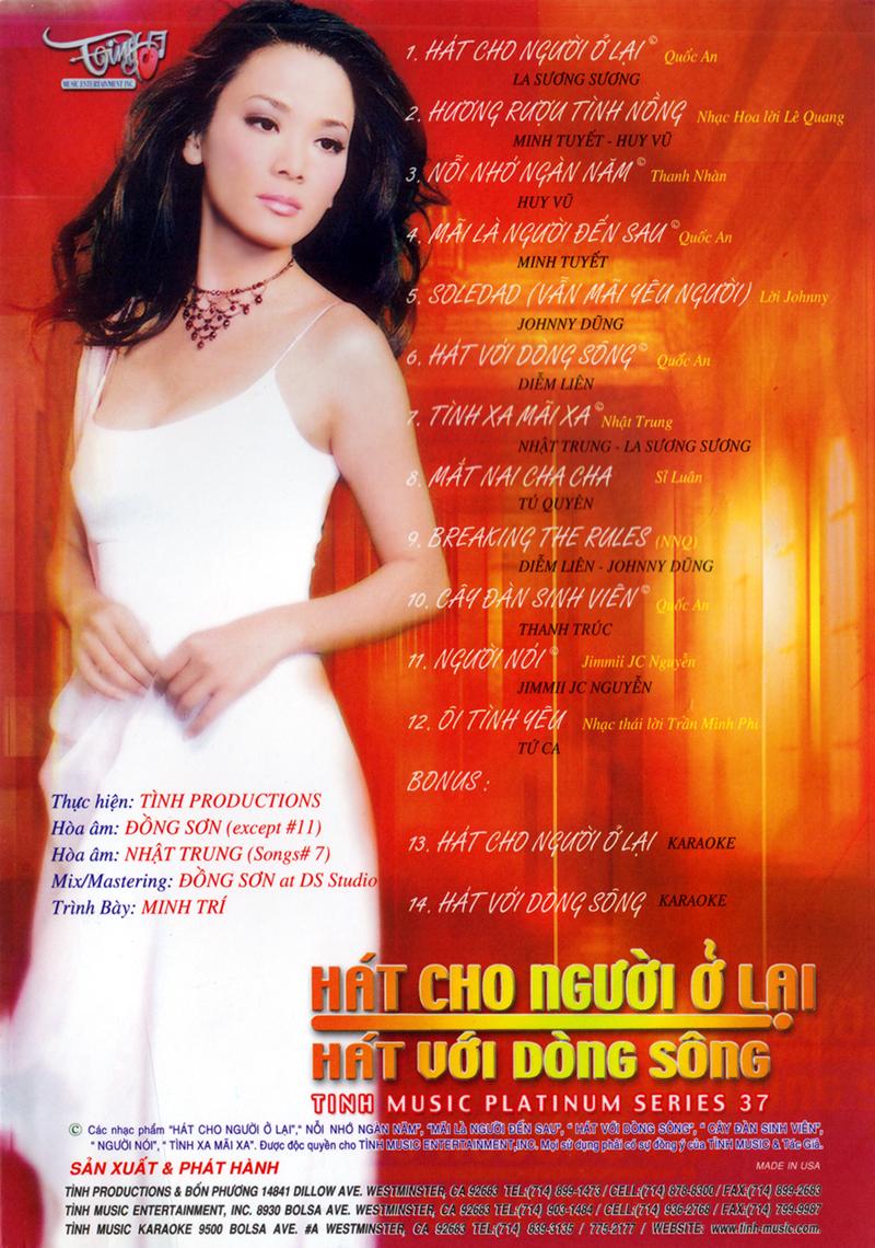 Tình Platinum CD037 - Hát Cho Người Ở Lại (NRG)