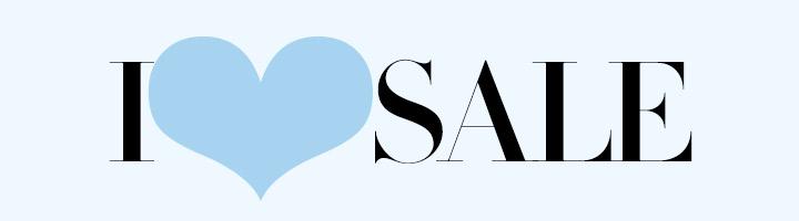 I LOVE SALE.