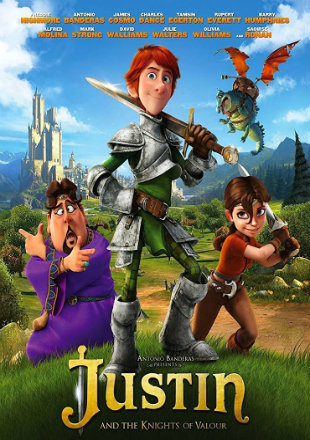 Justin and the Knights of Valour 2013 BRRip 720p Dual Audio In Hindi English