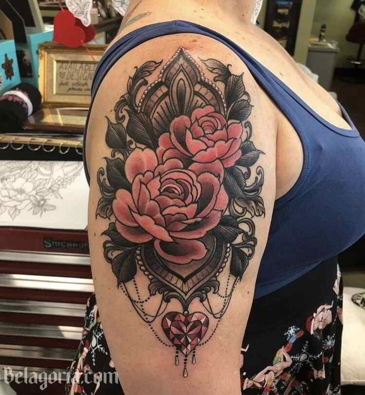 Un precioso tatuaje llenos de buen gusto y sensibilidad