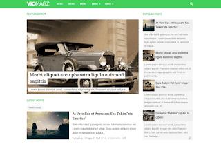VioMagz Version 2.6 Template