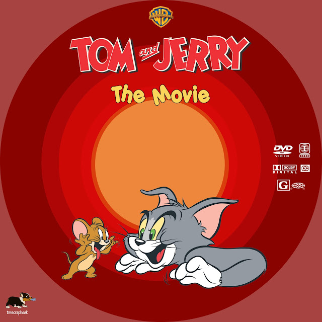 Tom and Jerry: The Movie DVD Label