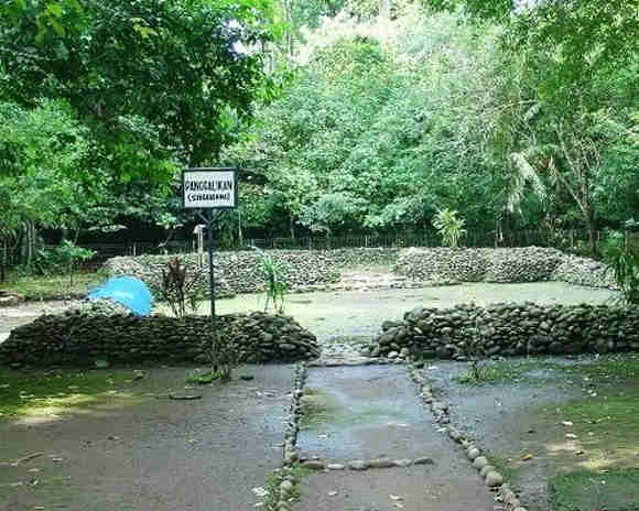 Situs Batu Pangcalikan Situs Karangkamulyan