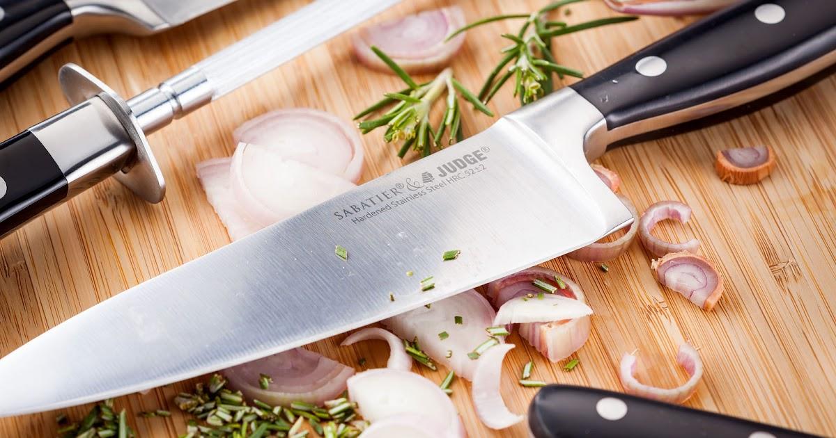 Judge Sabatier Kitchen Knives Review A Glug Of Oil