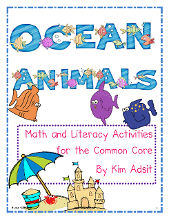 https://www.teacherspayteachers.com/Product/Ocean-Animals-Math-and-Literacy-Activities-for-the-Common-Core-236239