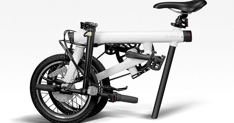 Xiaomi QiCycling, Sepeda Listrik Lipat Milik Xiaomi