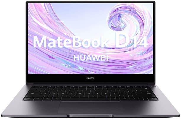 Huawei MateBook D 14: ultrabook de 14'' con procesador AMD Ryzen 5, sensor de huellas, Windows 10 Home y carga rápida