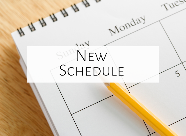 Adapting to a new schedule