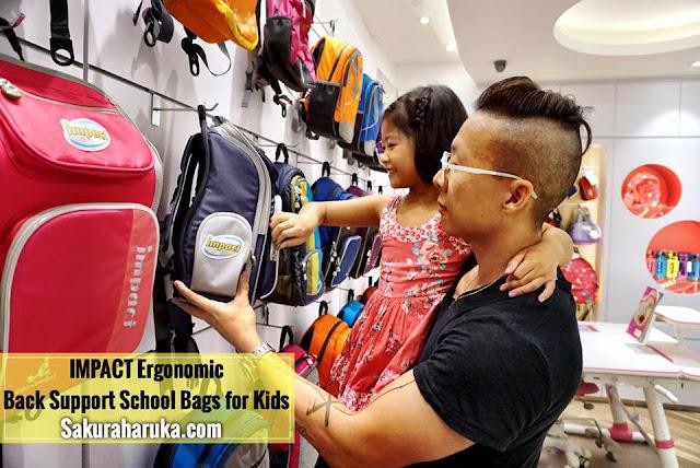 c3917c0f31 P1 Parenting  IMPACT Ergonomic Back Support School Bags for Kids