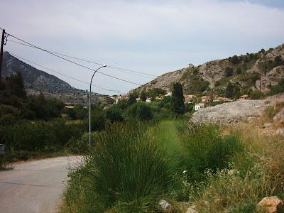 azud, assut, Matarraña, Matarranya, Beceite, Beseit, camino