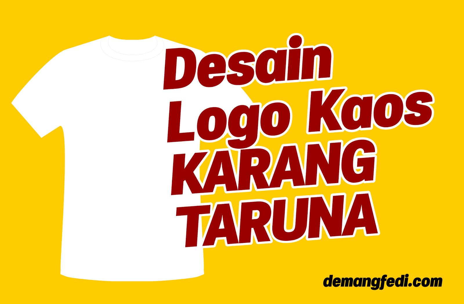Desain Logo Kaos Karang Taruna