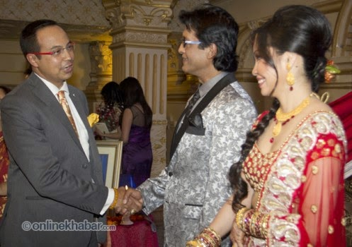 rajesh hamal and madhu bhattarai wedding, anil shah