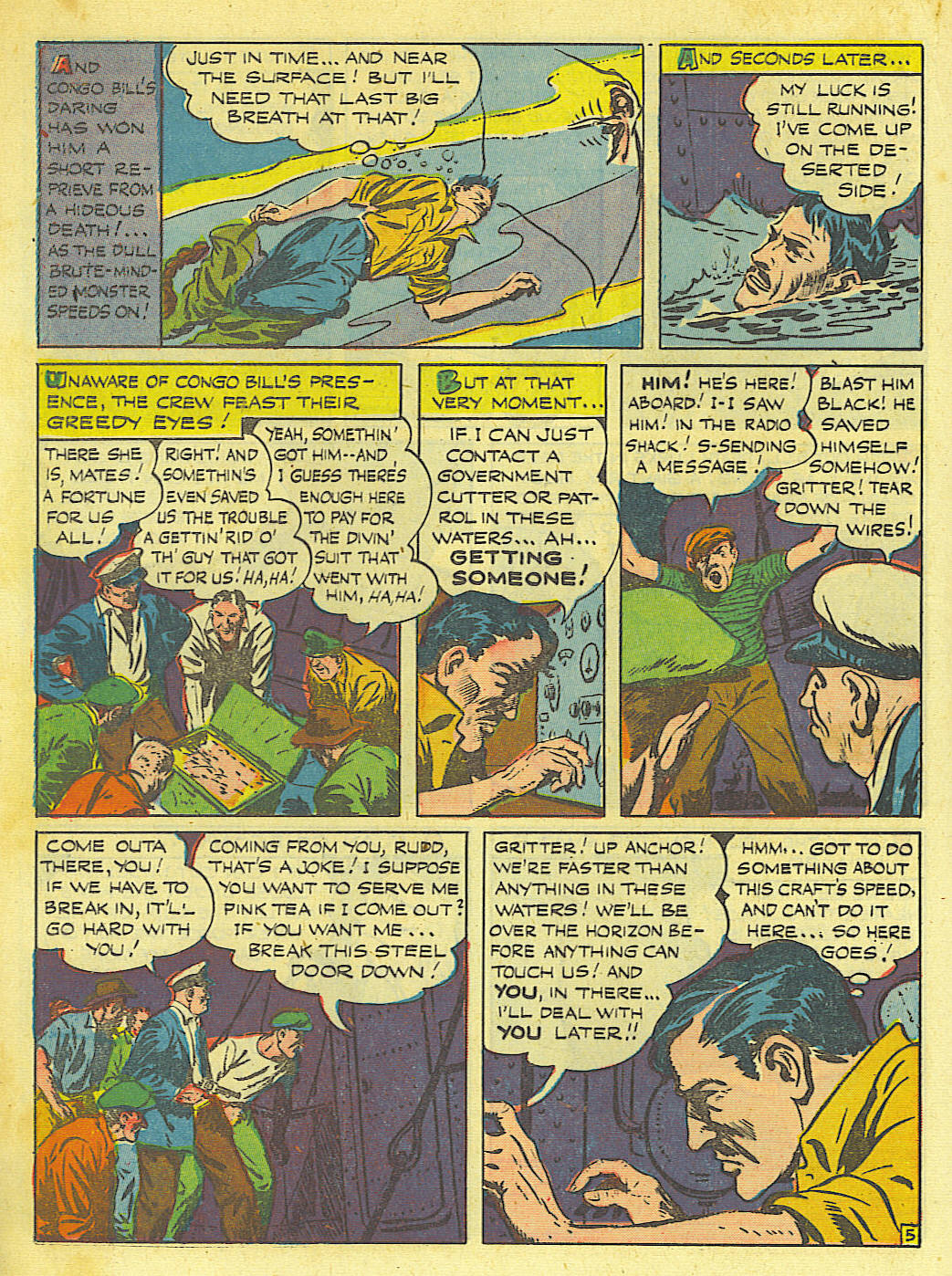 Read online Action Comics (1938) comic -  Issue #67 - 36