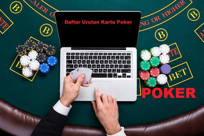 Daftar Urutan Kartu Poker Di Tangan - Informasi Judi