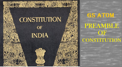 PREAMBLE, CONSTITUTION, INDIAN PREAMBLE , INDIAN POLITY , POLITY