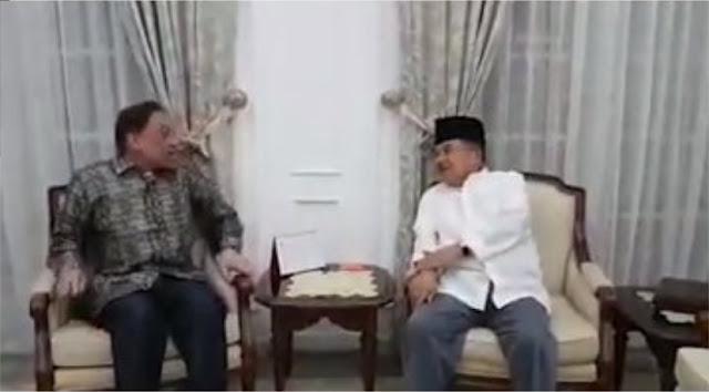 Disambut JK, Anwar Ibrahim: Kalau Tau Saya Pakai Baju Putih Tadi