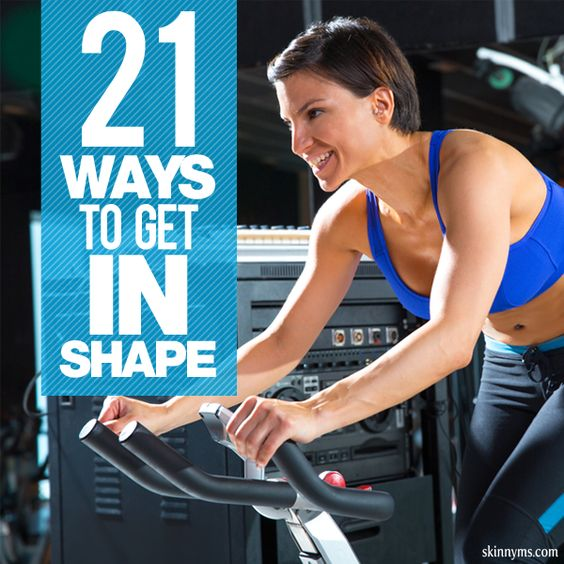 21 Ways to Get In Shape