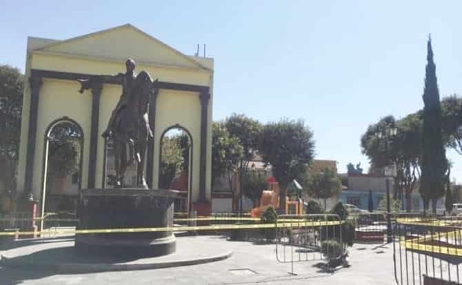 Monumento, comercio, ambulantes