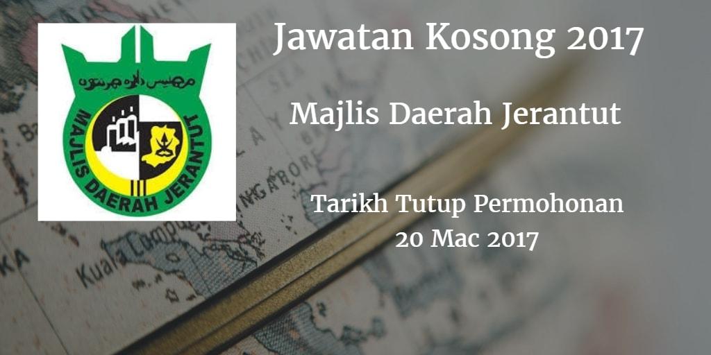 Jawatan Kosong MdJerantut 20 Mac 2017