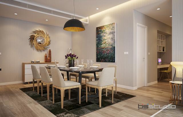 Thiết kế không gian phòng ăn One 18