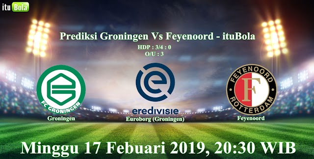 Prediksi Groningen Vs Feyenoord - ituBola