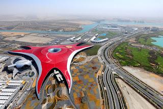 Abu dhabi Ferrari Theme Park