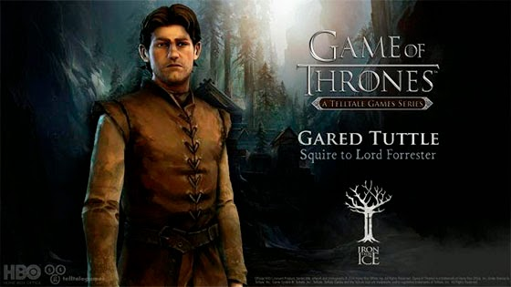 "Gared Tuttle videojuego ""Game of Thrones: Iron from Ice"""