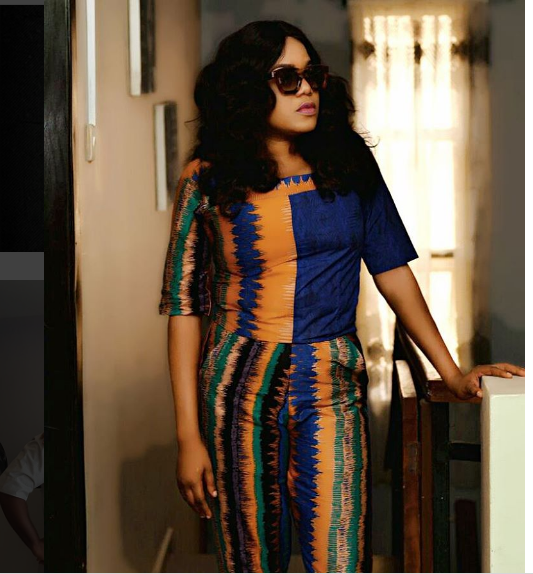 Toyin Aimakhu Looking Beautiful In Tie And Dye Attire