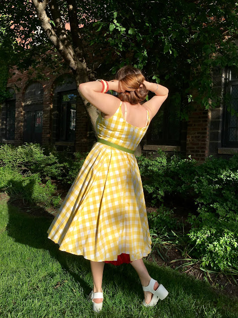 Pretty Dress Company Priscilla yellow