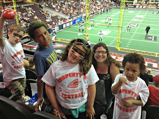 Cleveland Gladiators game at The Q Arena