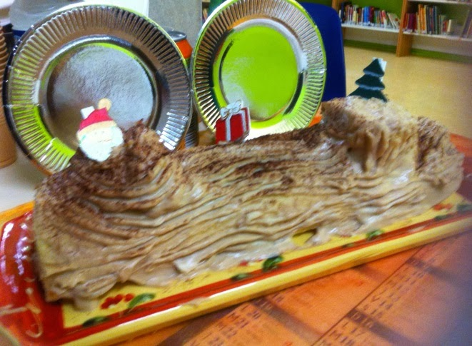 Papilles On Off Buche De Noel A La Creme De Marrons Et Brisures De