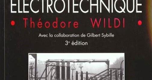 Electrotechnique Wildi Sybille Pdf