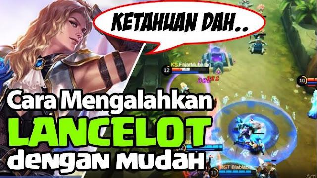 Hero yang dapat mengalahkan lancelot mobile legends