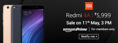 Buy Xiaomi Redmi 4A Buy Online From Amazon
