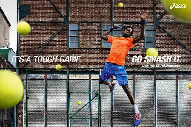 Asics presenta su nueva campaña en el mundo del tenis
