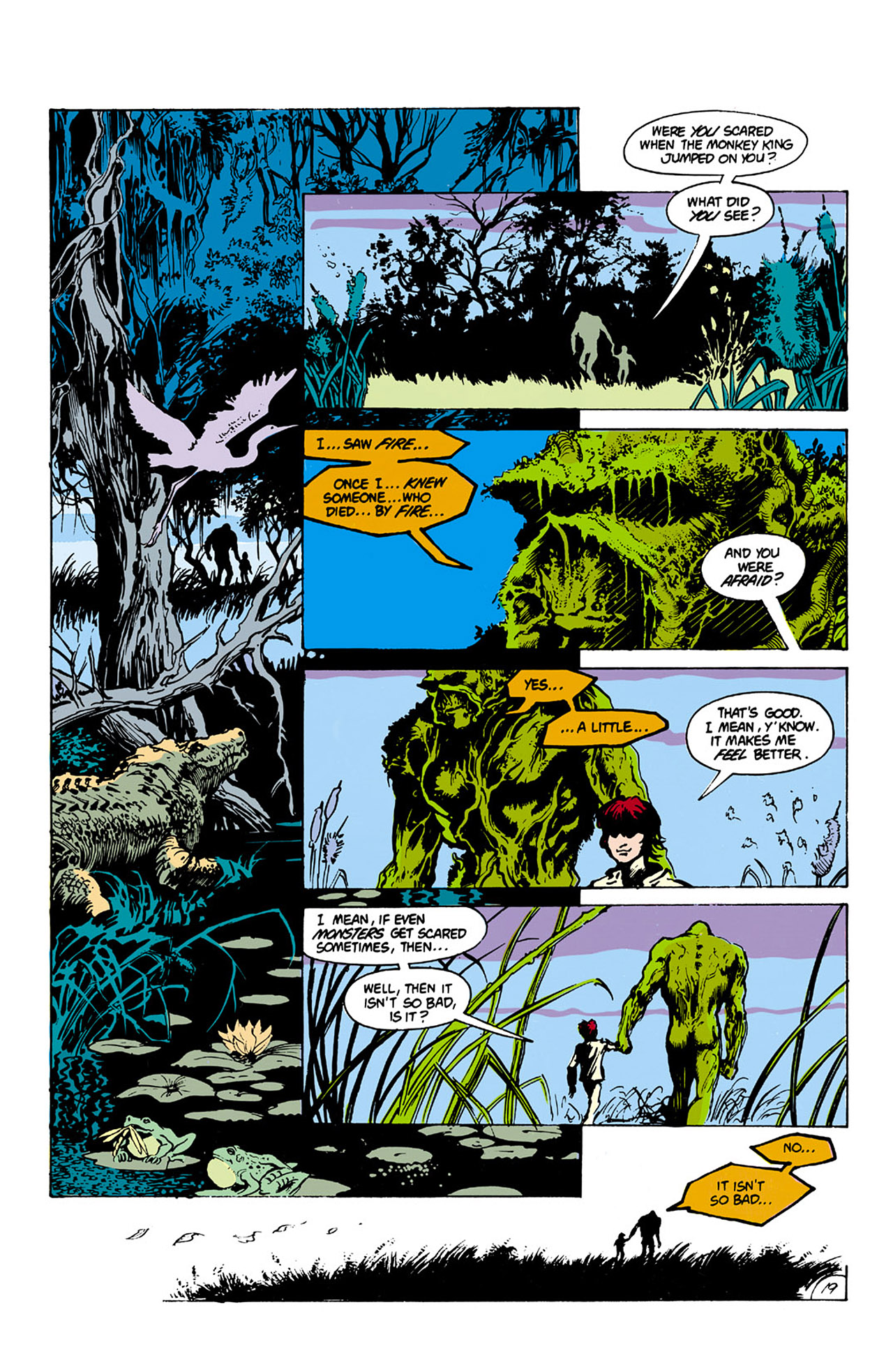 Swamp Thing (1982) Issue #27 #35 - English 19