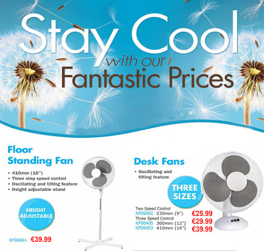 Stay Cool with our Fantastic Fan Offer