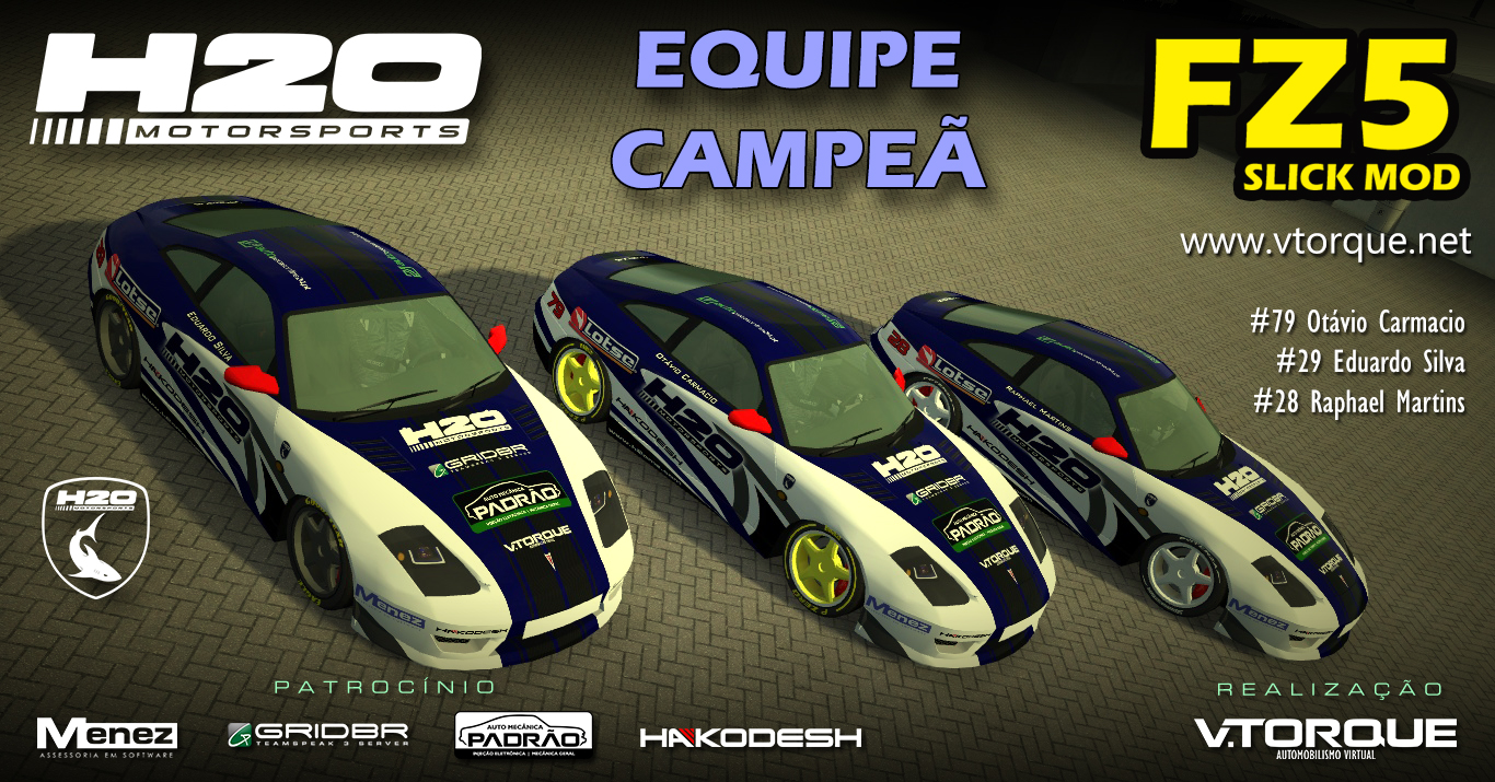 H2O MotorSports, equipe campeã do FZ5 Slick Mod Banner_fz5_equipe