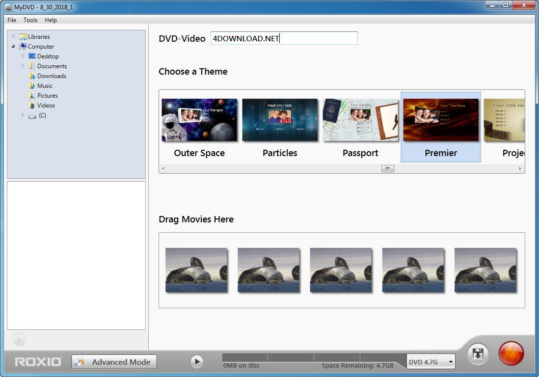 Roxio MyDVD v2.0.1.33 Full version