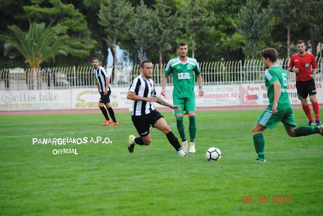 Εύκολα ο Παναργειακός 1-0 τη Μαύρη Θύελλα στο φιλικό