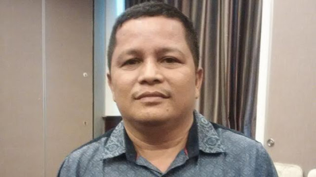 Sekretaris PT. Sriwijaya Optimis Mandiri, Perusahaan yang Menaungi Sriwijaya FC, Faisal Mursyid (sumber foto : internet)