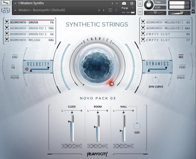 SAMPLE SOUND REVIEW: Synthetic Strings Novo Pack 03 by