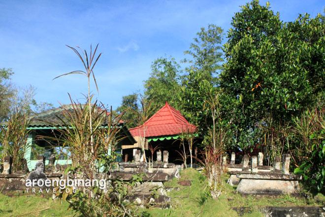 luar cungkup makam kyai mojo minahasa sulawesi utara
